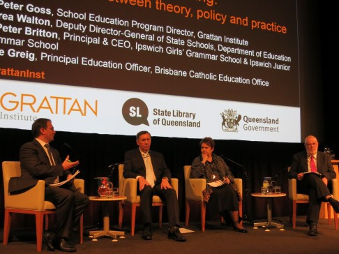 Targeted teaching Grattan Institute event photo