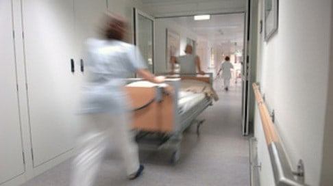 health_hospital_bed_post
