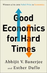 Good Economics for Hard Times book cover