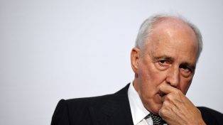 Former Prime Minister Paul Keating at Banking summit - AAP Image/David Moir